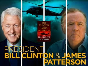 President Bill Clinton and James Patterson - The Temple Emanu-El Streicker Center - Asia