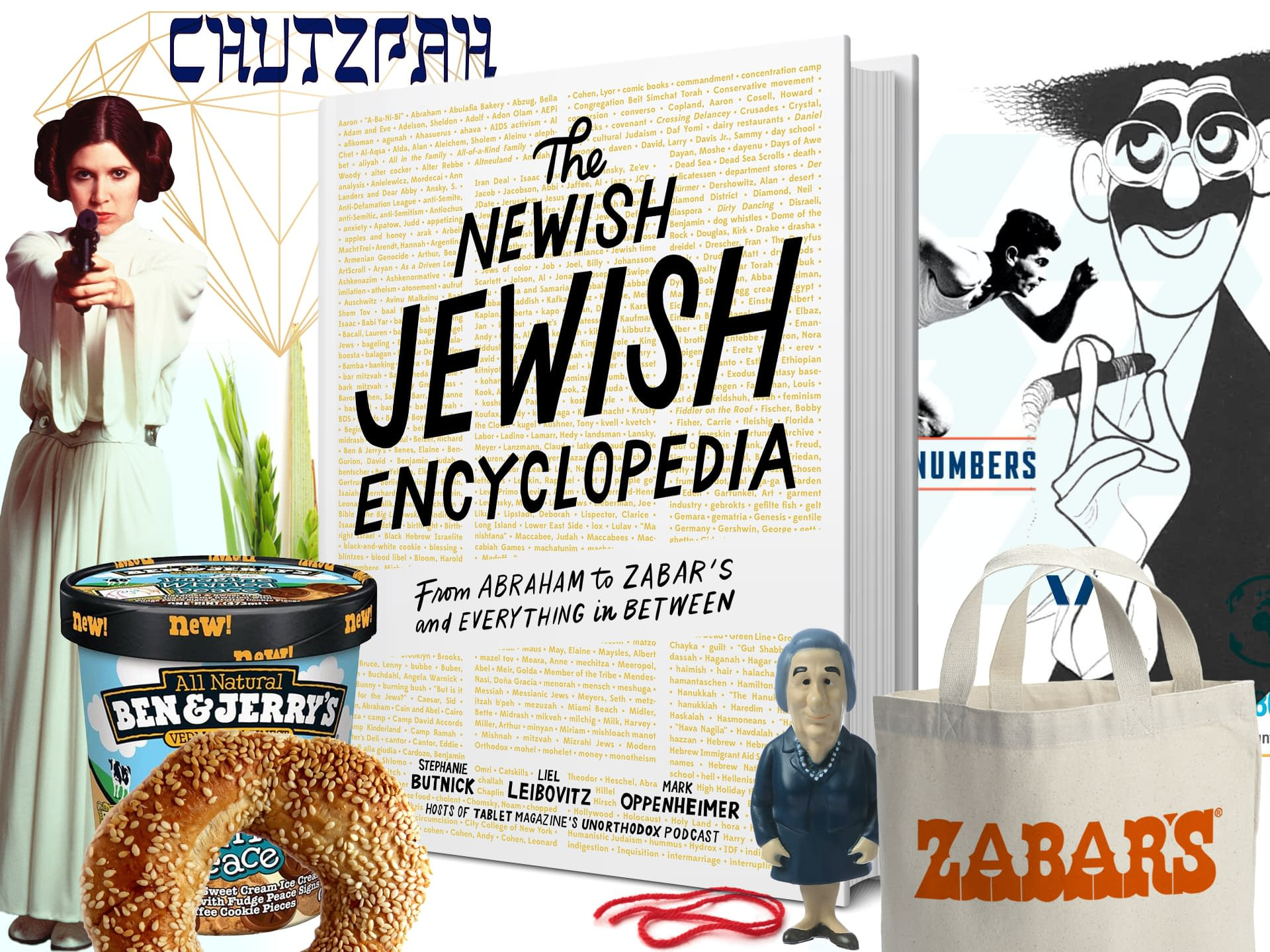 From Abraham to Zabar's and Everything in Between - Poster - Font