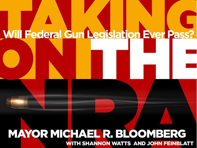 Taking On the NRA - Graphic design - Logo