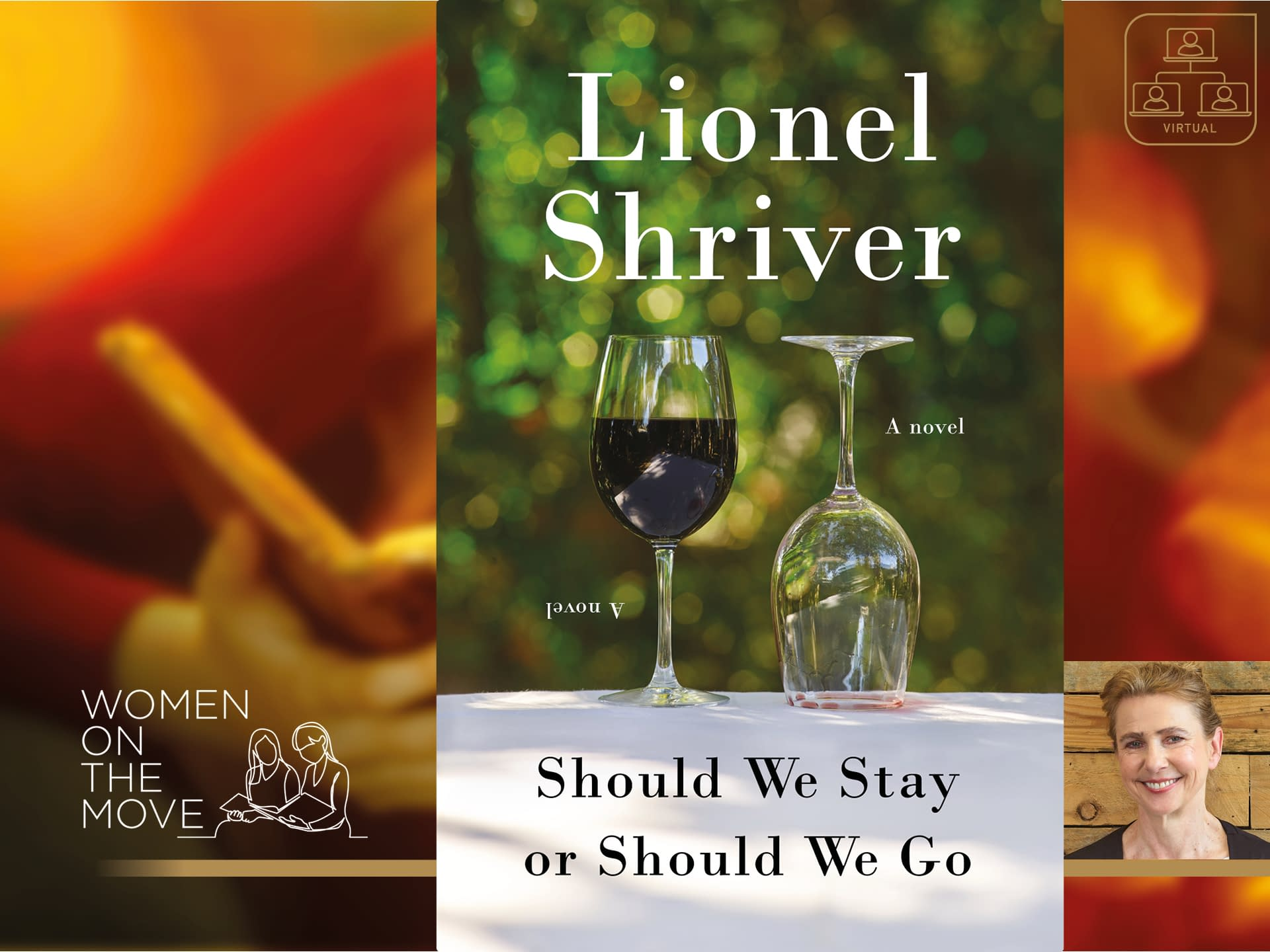 Lionel Shriver: Women on the Move 3 - - author