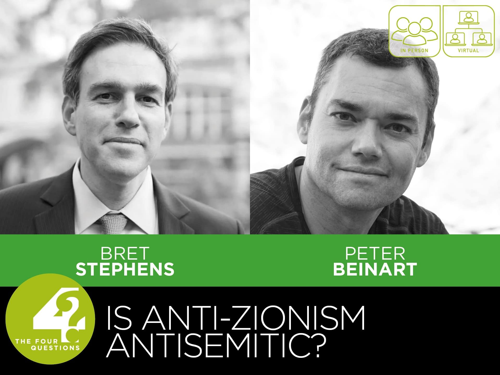Bret Stephens and Peter Beinart: Is Anti-Zionism Antisemitic? 3 - - fourquestions
