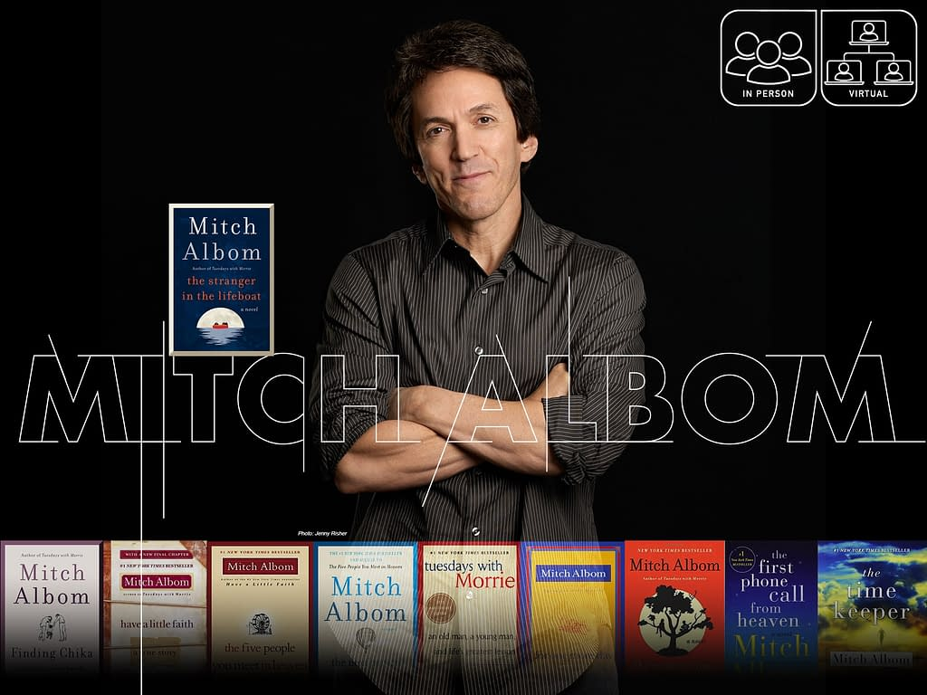 An Evening with Mitch Albom 47 - Fall 2021 - Fall 2021