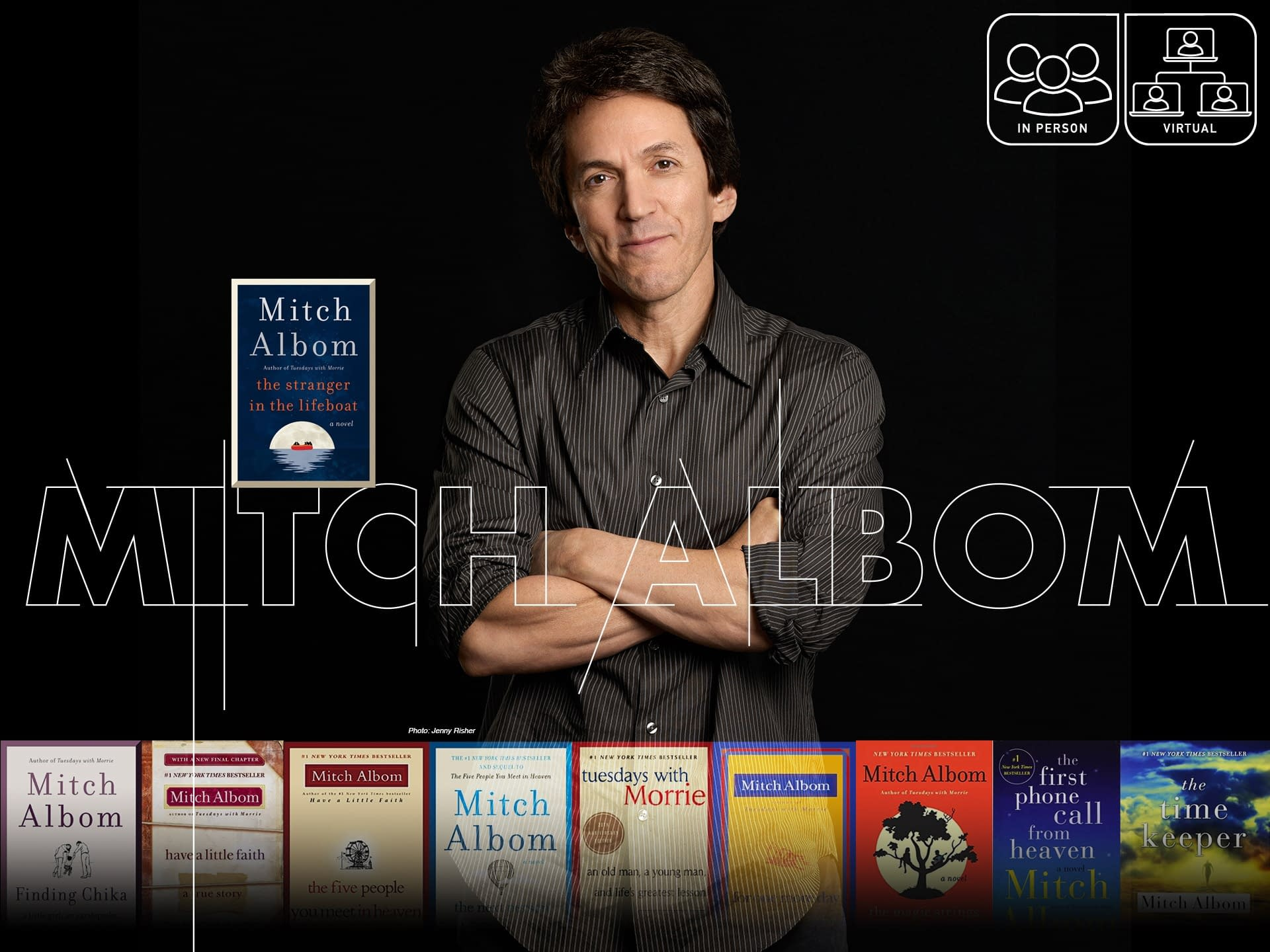 An Evening with Mitch Albom 3 - - author