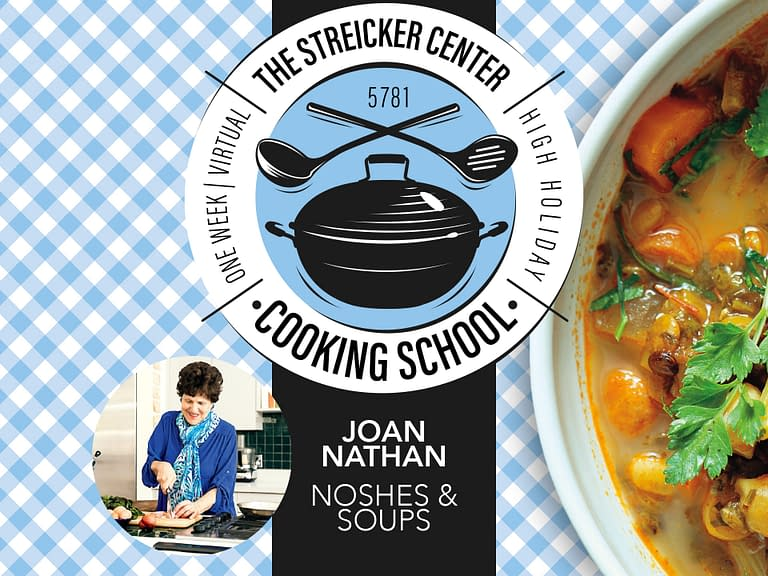 Joan Nathan: Noshes and Soups - Jewish cooking in America - The Temple Emanu-El Streicker Center
