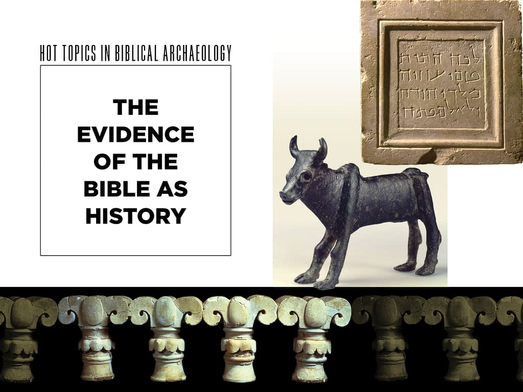 Dr. Yosef Garfinkel: The Evidence of the Bible as History - Biblical archaeology - The Temple Emanu-El Streicker Center