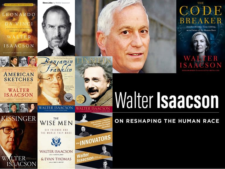 Walter Isaacson - The Temple Emanu-El Streicker Center - Image