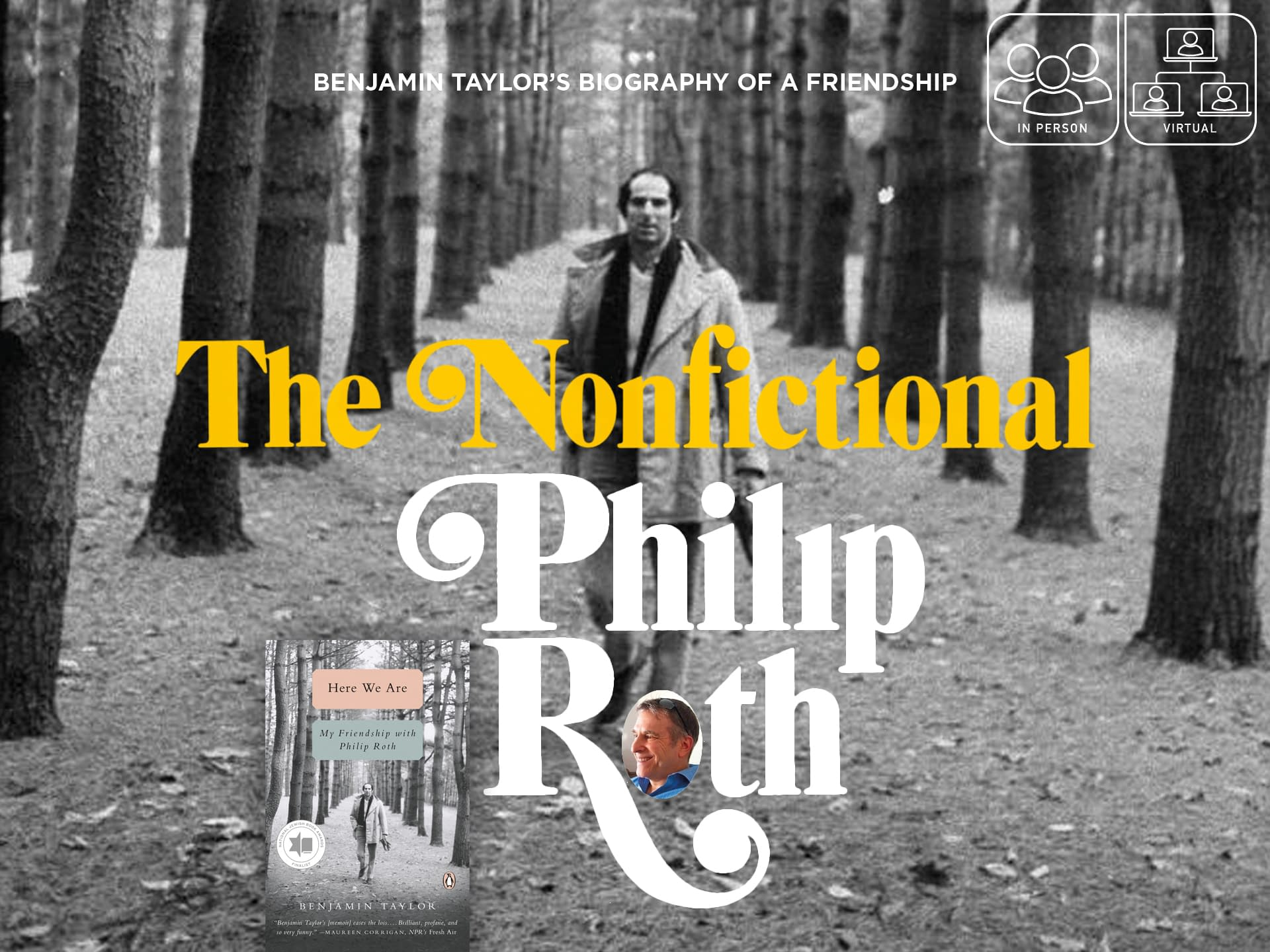 The Nonfictional Philip Roth 3 - - author