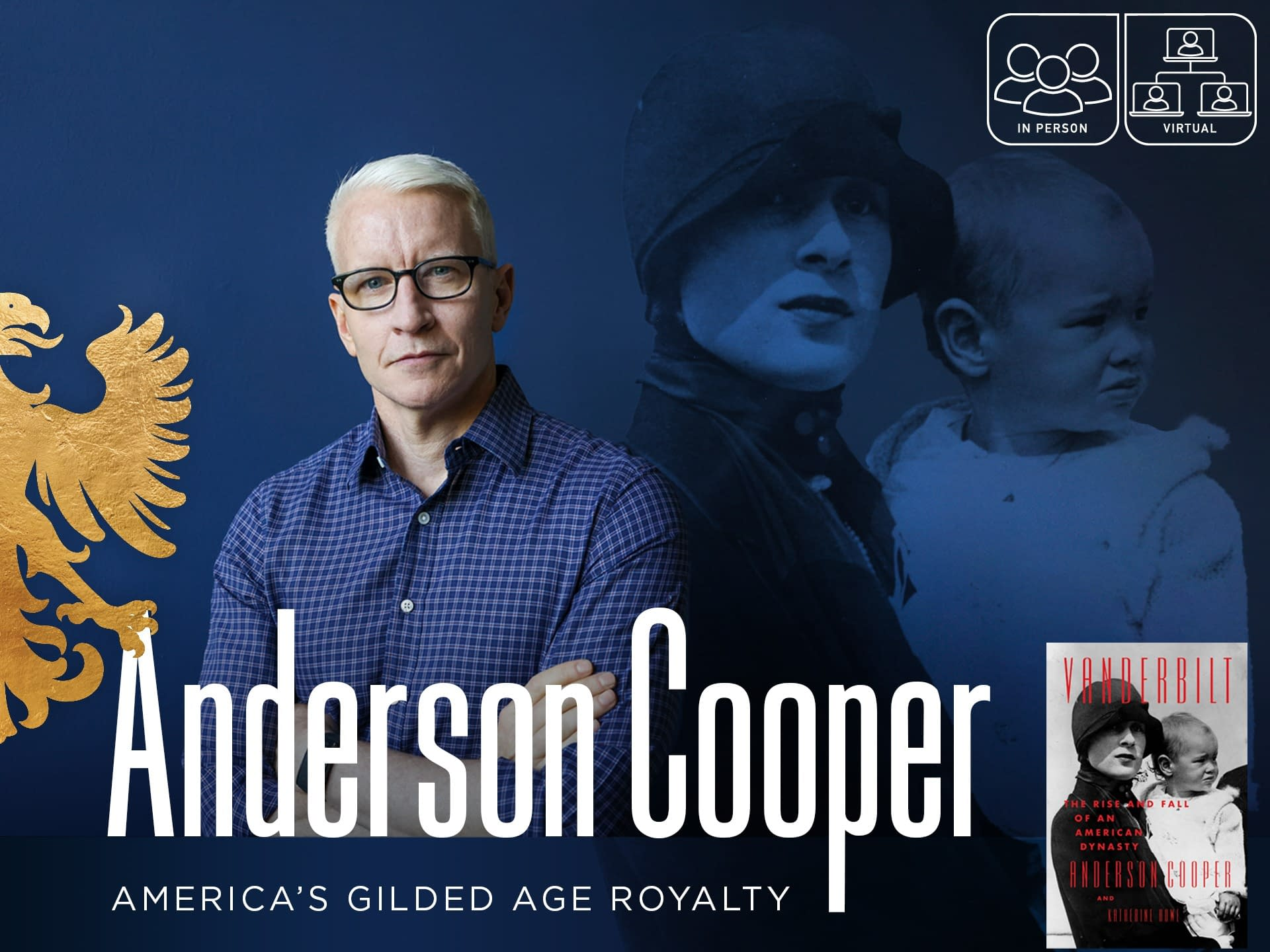 Anderson Cooper: America's Gilded Age Royalty 3 - - author