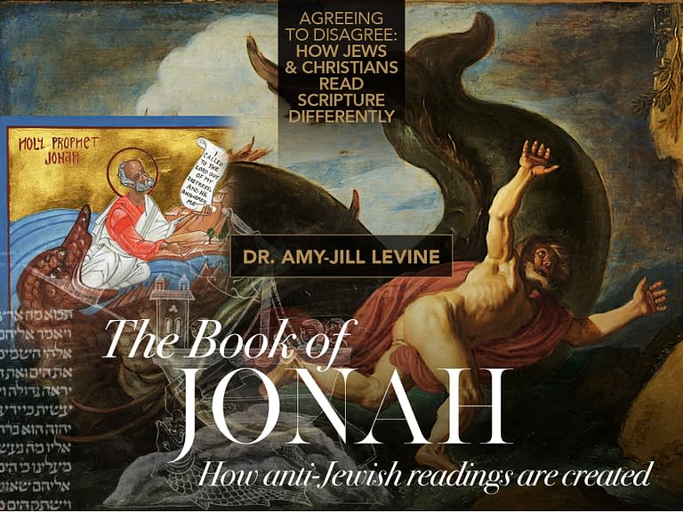 Dr. Amy-Jill Levine: The Book of Jonah - Book of Jonah - Jonah and the Whale